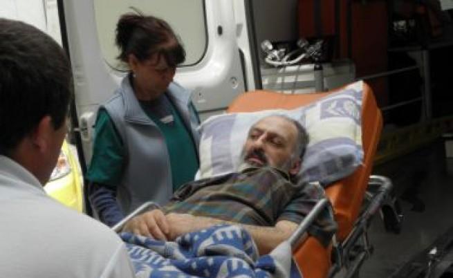 Трети случай на безпомощен пациент, предаден ни от Гърция