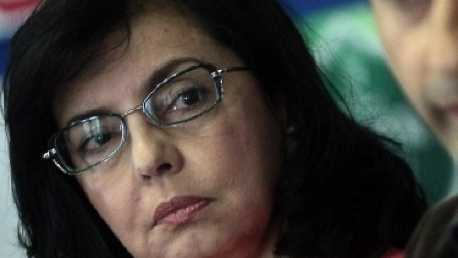 Меглена Кунева, която преди няколко дни обяви, че на 1 юли ще учреди партия