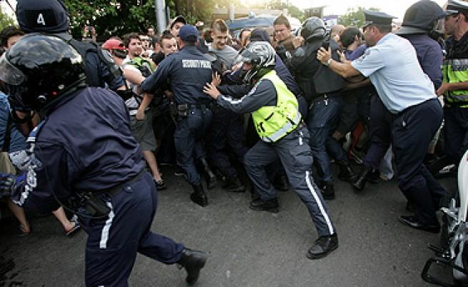 Отново задържани на протеста на природозащитниците