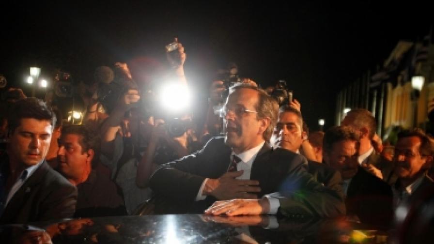 """Още днес лидерът на """"Нова демокрация"""" Андонис Самарас получава мандат за сформиране на правителство"""