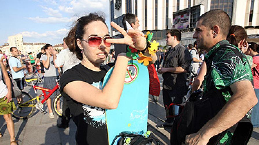 Хиляди се събраха в София, за да подкрепят ветото на Закона за горите