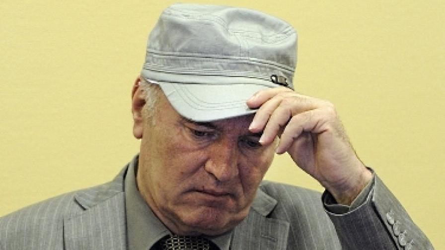 Ратко Младич пред трибунала в Хага