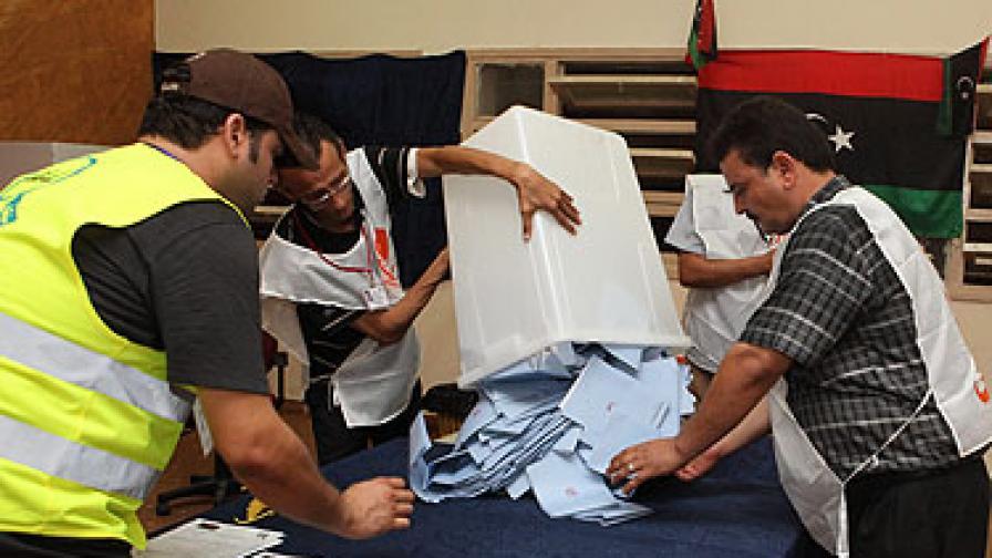 Либералите обявиха, че водят на изборите в Либия