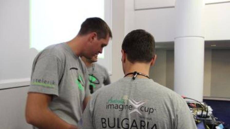 Започва презентацията на българския отбор