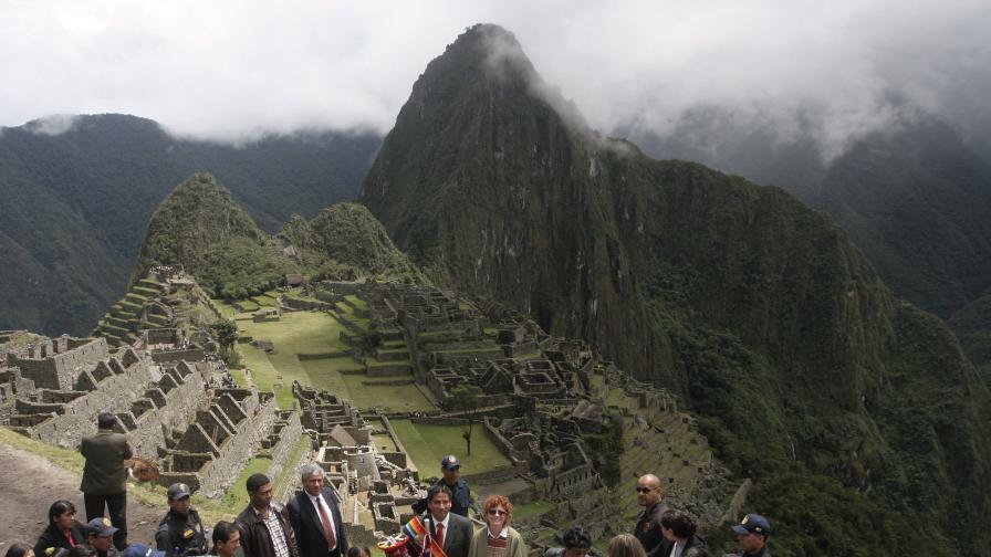 Откриха неизвестен участък от пътя към Мачу Пикчу