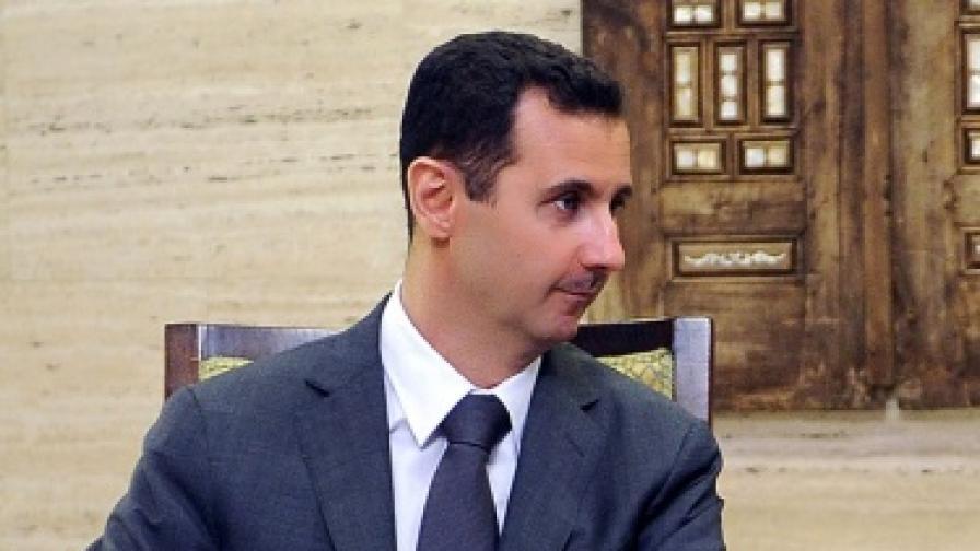 Руският посланик в Париж: Асад е готов да се оттегли
