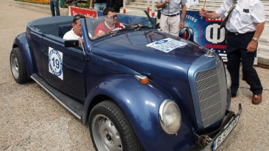 Принцът на Монако разпродава ретро автомобили