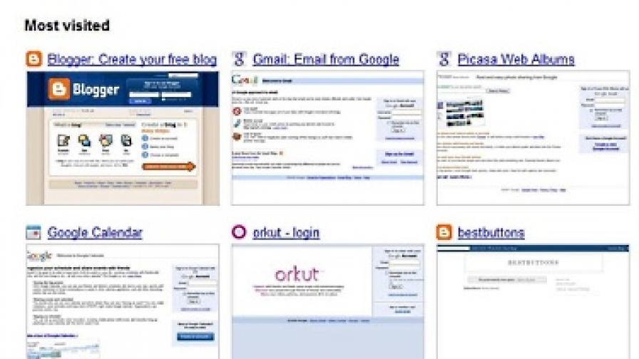 Историята на браузъра като пръстов отпечатък