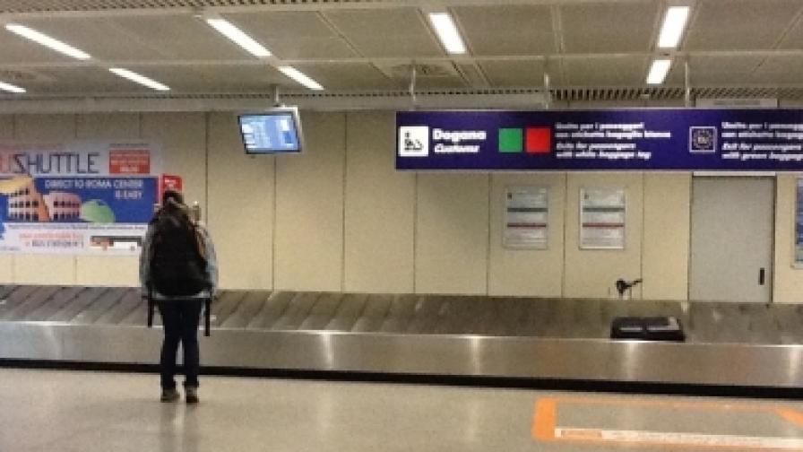 Пиян норвежец заспал на лентата за багаж