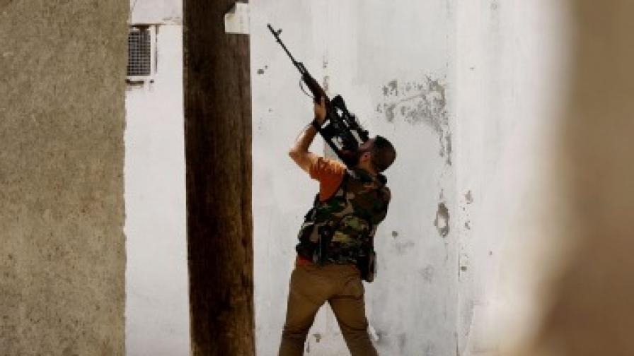 Британските служби помагали на сирийските бунтовници