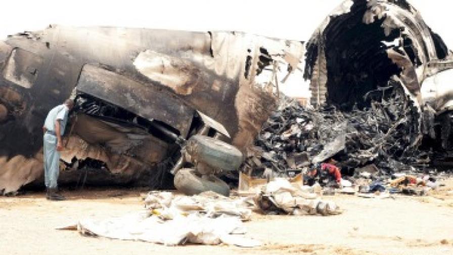 Судански самолет се взриви, загинаха всички на борда