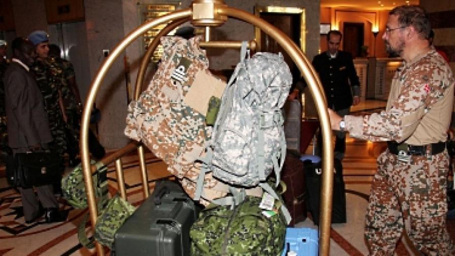 Международните наблюдатели се изтеглят от Сирия