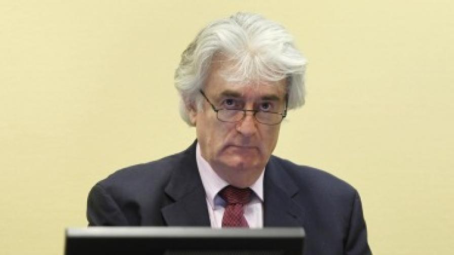 Хага: Няма да има нов процес срещу Караджич