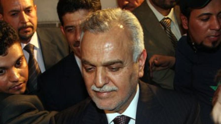 Осъдиха иракския вицепрезидент на смърт