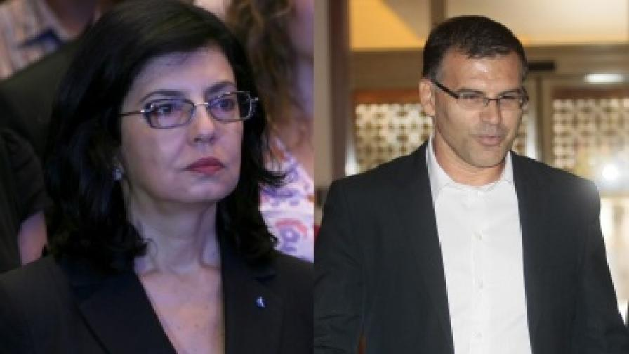 Симеон Дянков и Меглена Кунева в задочен спор за конкурентоспособността