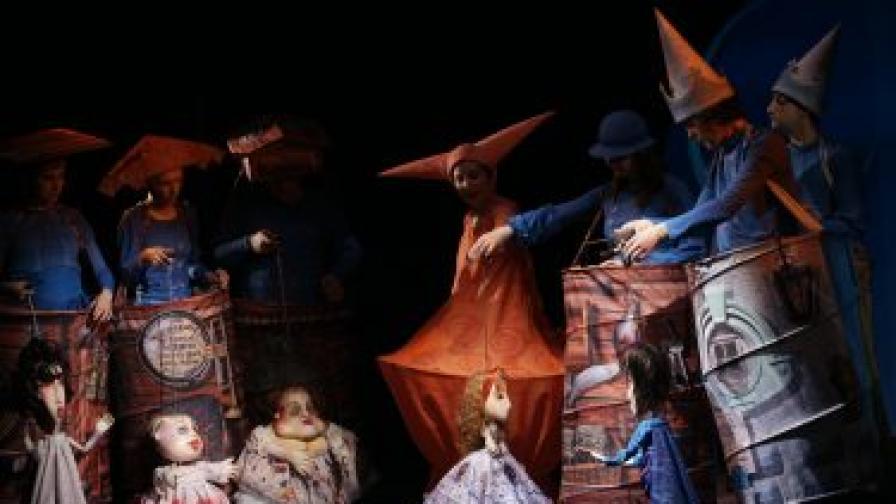 """""""Пепеляшка"""" - за деца от 7 до 11 г. - Държавен куклен театър - Стара Загора"""