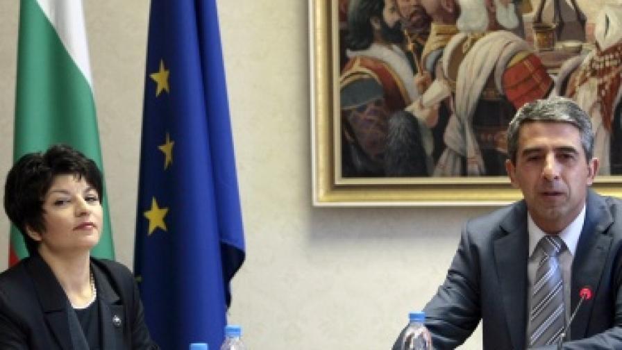 """Президентът Росен Плевнелиев откри заседание на Съвета за икономическо развитие и социални политики на тема """"Здраве и здравеопазване: ключови цели и решения"""""""