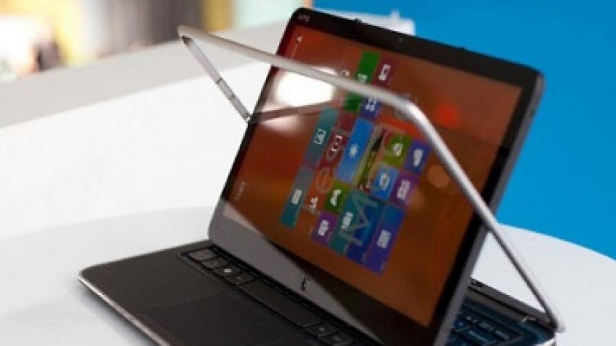 Dell XPS Duo 12 е типичен представител на новия клас лаптаб компютри