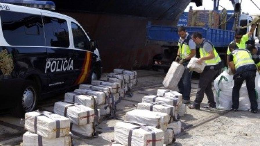 Командироват разследващи в Испания заради моряците, хванати с кокаин