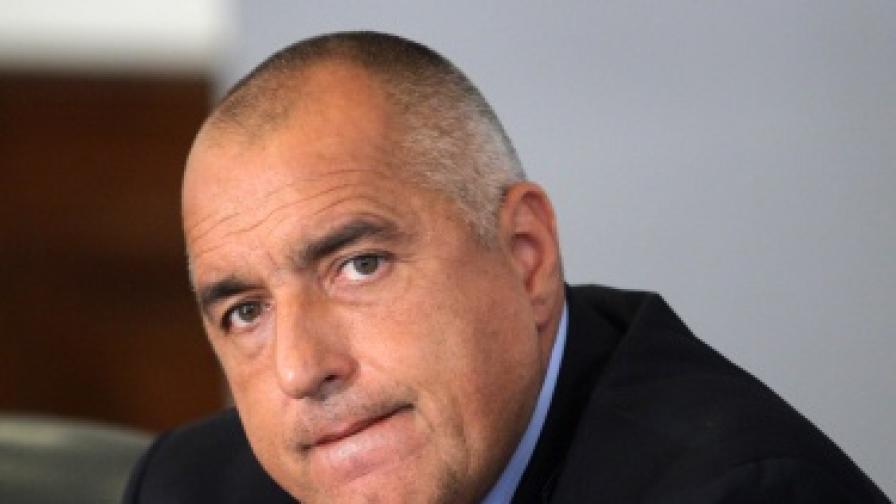 От НСО отричат за лек пътен инцидент с Борисов