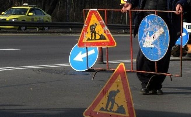 Затруднено движение по бул.