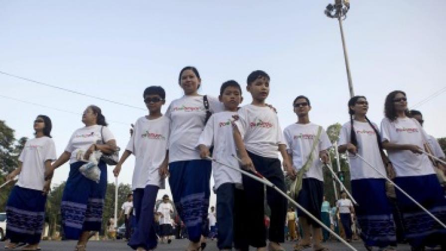 15 октомври е Международен ден на белия бастун