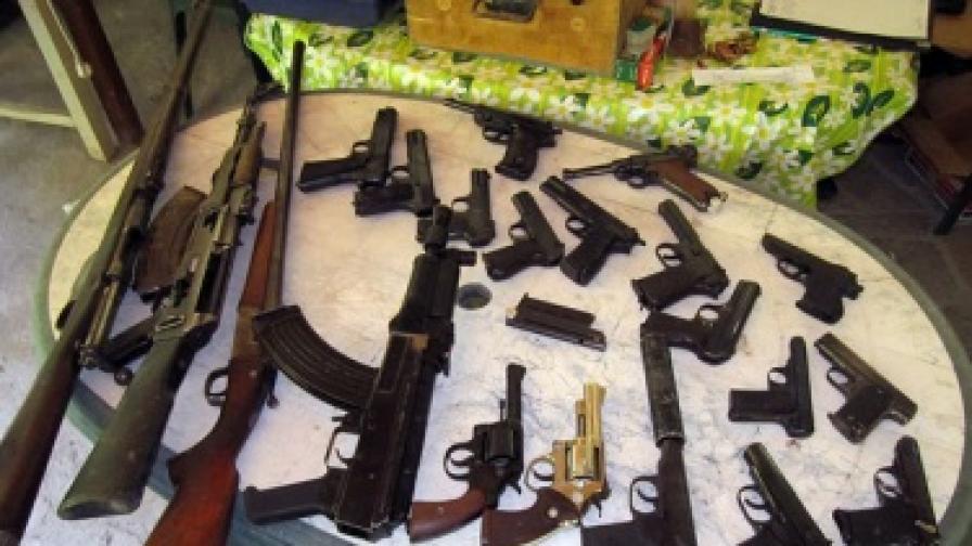 ГДБОП разкри нелегална работилница за оръжие край Асеновград