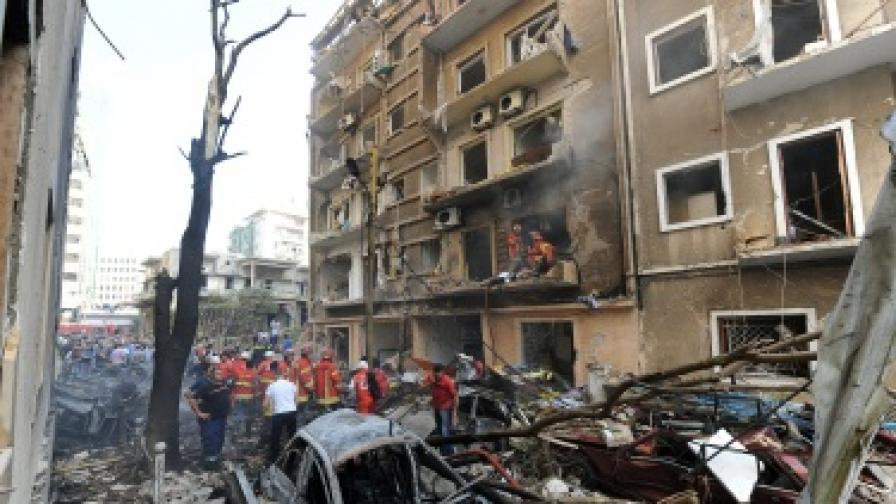Шефът на ливанското разузнаване е убит при атентата в Бейрут