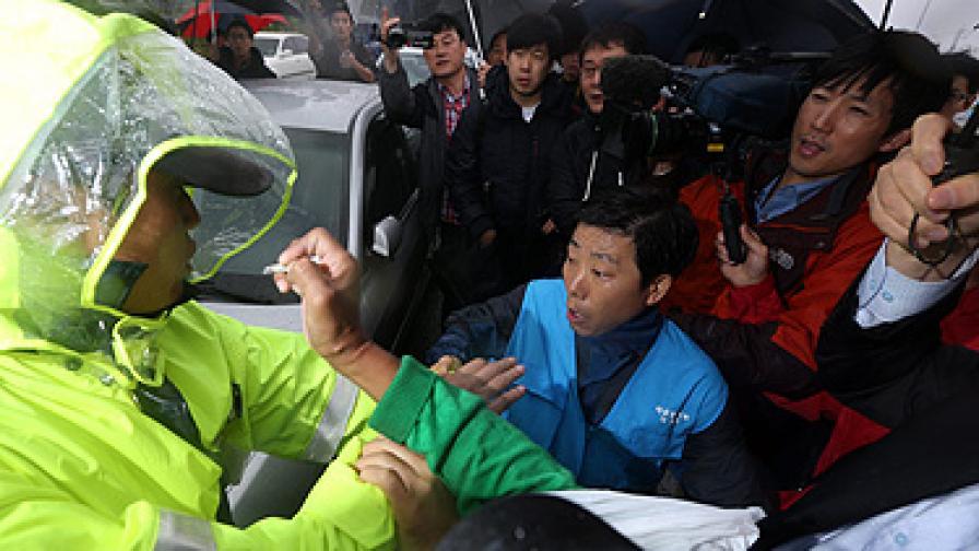 Южнокорейците не удържаха пропагандните балони