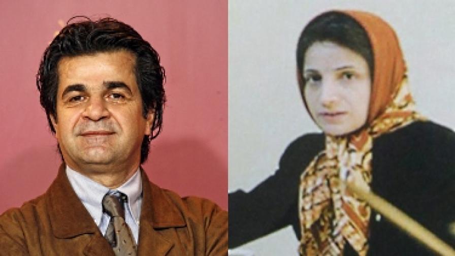 Джафар Панахи и Насрин Сотудех