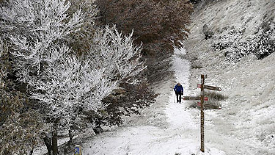 Сняг и студ в Чехия, Полша и Франция