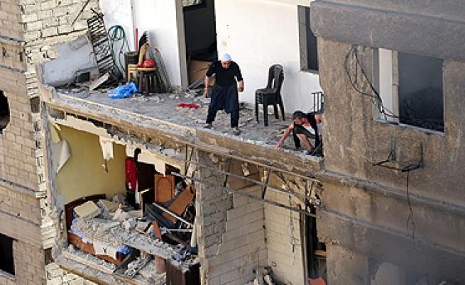 Асад вече бомбардира Дамаск