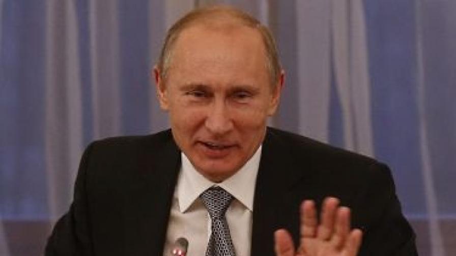 Москва: Путин няма да дойде в България на 9 ноември