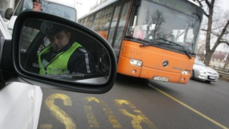 Пак инциденти с автобуси, возещи деца