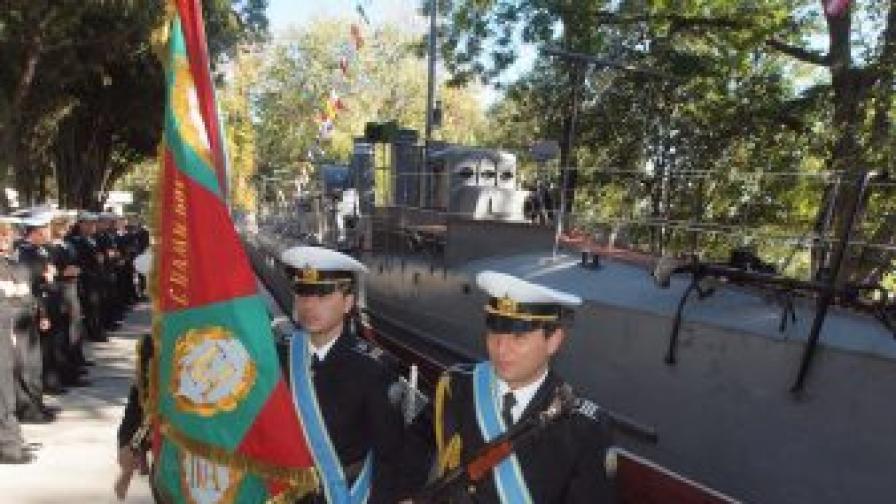 """Във Варна бе отбелязана 100-годишнината от успешната атака на торпедоносеца """"Дръзки"""" срещу турския крайцер """"Хамидие"""""""