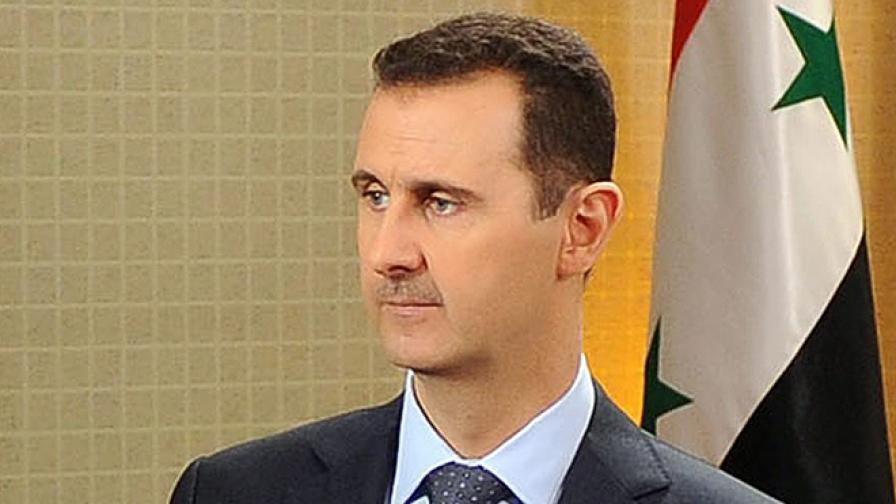 Асад: Гражданска война в Сирия няма