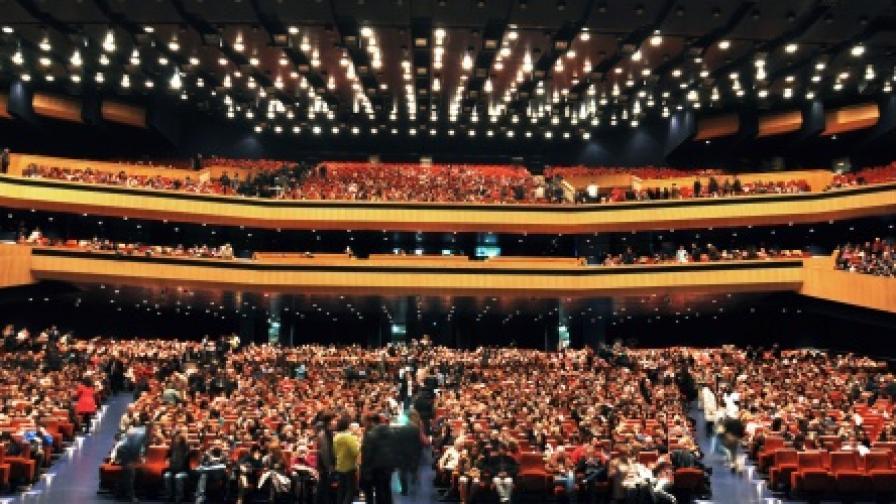 """В Зала 1 на НДК на прожекция от програмата на """"Киномания 2012"""""""