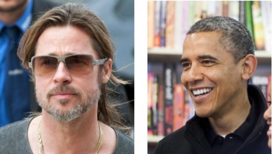 Брад Пит и Барак Обама - братовчеди
