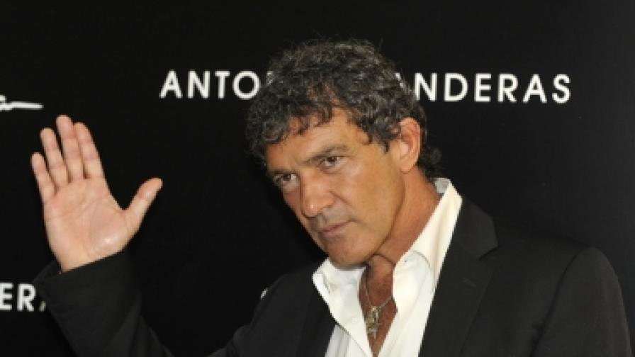 Антонио Бандерас ще снима филм в България