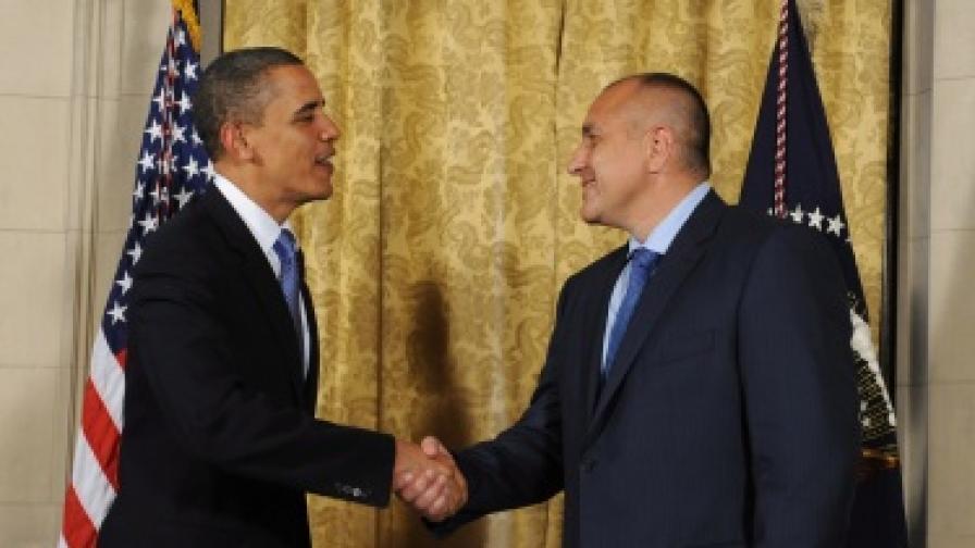 Обама ще приеме Бойко Борисов на 3 декември