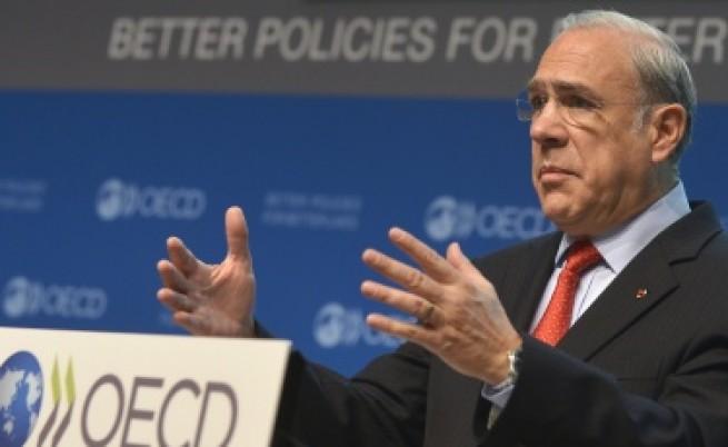 ОИСР: Дълговата кризата в еврозоната е заплаха за световната икономика