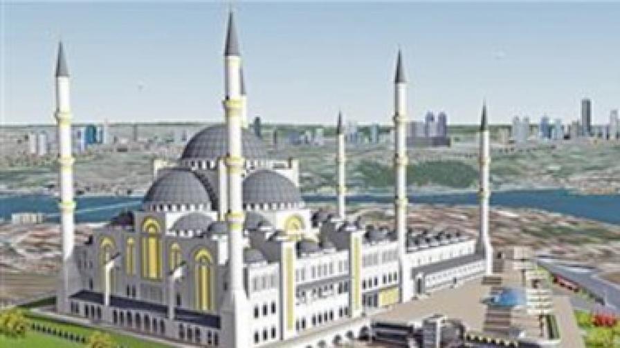 Джамия в Истанбул, подходяща за султан