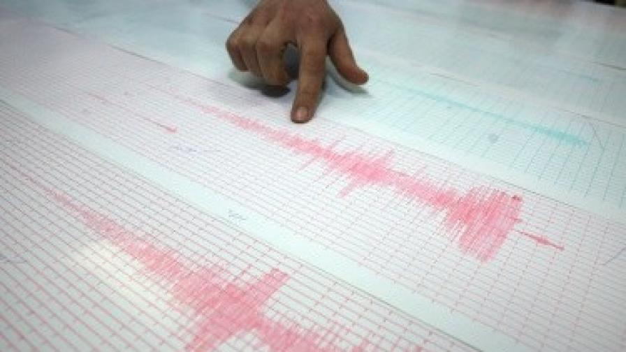 Земетресение с магнитуд 4,7 в Румъния