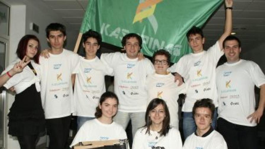 Българският отбор по роботика отива на финалите в Германия