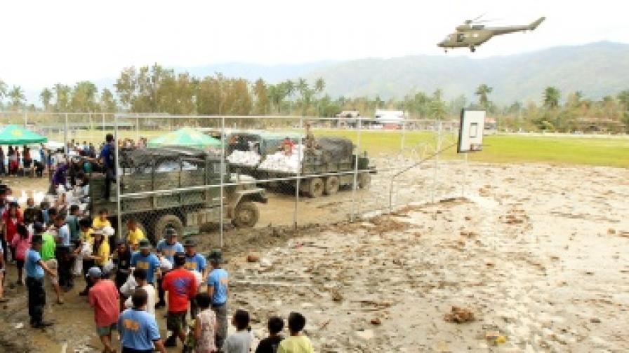 Най-малко 600 души загинаха във Филипините