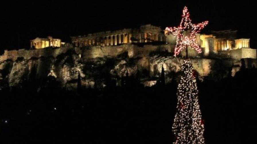 Атина няма пари за елха тази година