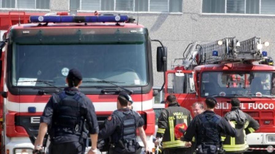 Двама загинали след срутване на две сгради в Палермо