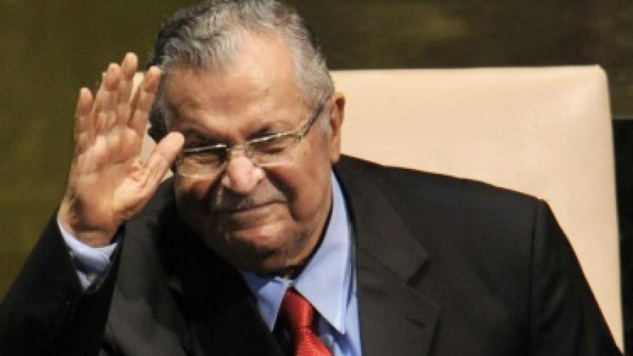 Здравето на иракския президент рязко се влоши