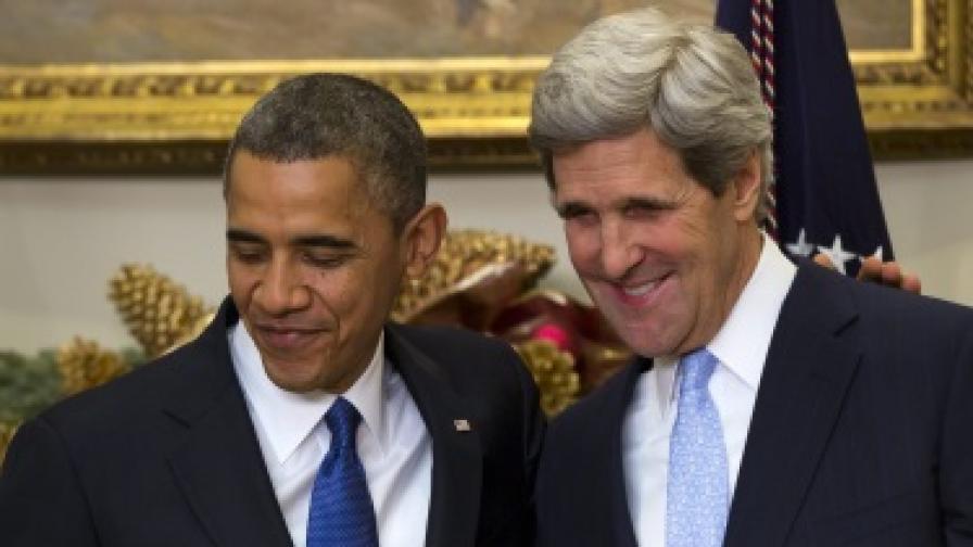 Обама предлага Джон Кери да оглави дипломацията на САЩ