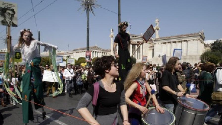 В Гърция стачкуват и актьорите